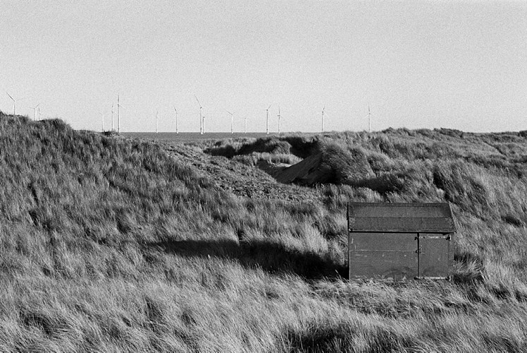 01-South Gare Black and White Film Fuji Christian Ward